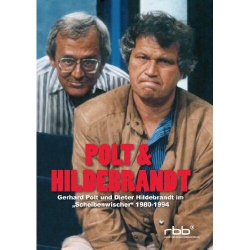 Gerhard Polt - Polt & Hildbrandt - Gerhard Polt und Dieter Hildebrandt im Scheibenwischer 1980-1994 [2 DVDs] - Preis vom 26.01.2021 06:11:22 h