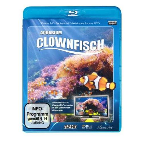 - Clownfisch-Aquarium [Blu-ray] - Preis vom 25.02.2021 06:08:03 h