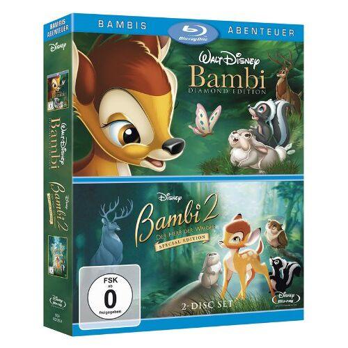 - Bambi / Bambi 2 - Der Herr der Wälder [Blu-ray] - Preis vom 13.04.2021 04:49:48 h
