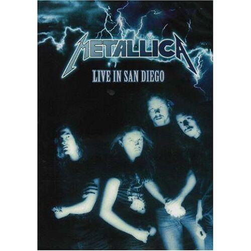 Metallica - Metallica- Live In San Diego DVD - Preis vom 27.02.2021 06:04:24 h