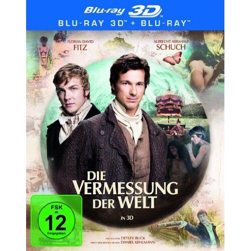 Buck, Detlev W. - Die Vermessung der Welt (+ Blu-ray) [Blu-ray 3D] - Preis vom 03.12.2020 05:57:36 h