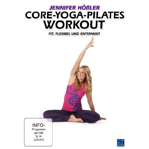 Britta Leimbach - Jennifer Hößler: Core-Yoga-Pilates Workout - Fit, flexibel und entspannt - Preis vom 15.10.2019 05:09:39 h