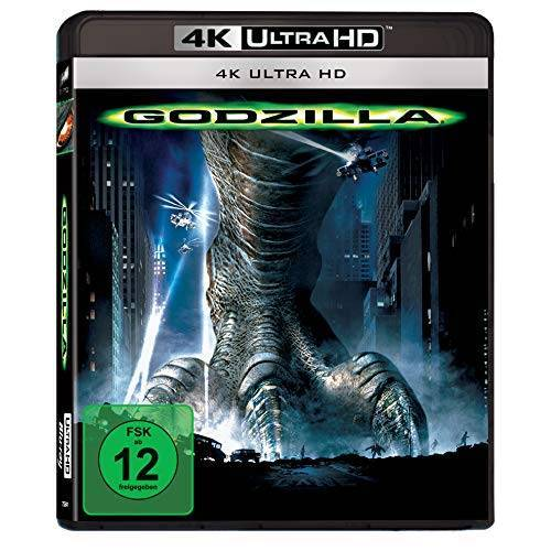 Roland Emmerich - Godzilla (UHD BD-1) [Blu-ray] - Preis vom 07.05.2021 04:52:30 h