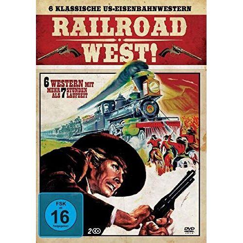 Randolph Scott - 6 Klassische US-Eisenbahnwestern [2 DVDs] - Preis vom 24.02.2021 06:00:20 h