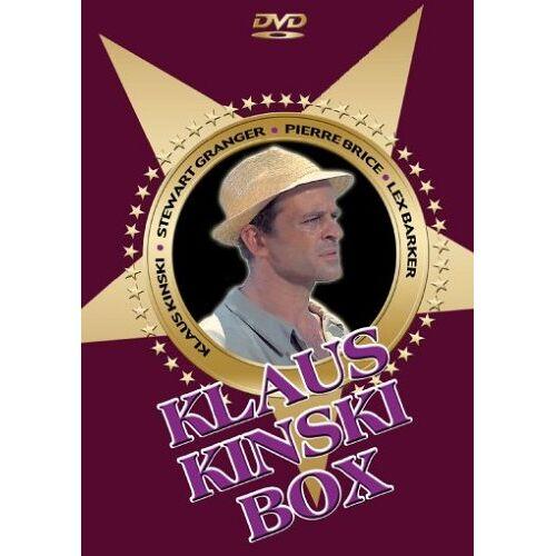 Klaus Kinski - Die Klaus Kinski Box (3 DVDs) - Preis vom 20.10.2020 04:55:35 h
