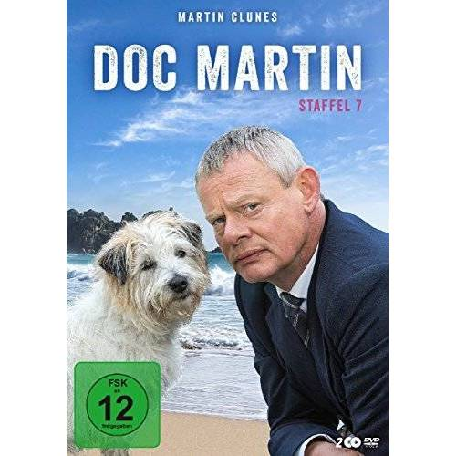 Martin Clunes - Doc Martin - Staffel 7 [2 DVDs] - Preis vom 14.04.2021 04:53:30 h