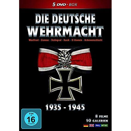 Die deutsche Wehrmacht - Die Deutsche Wehrmacht 1935 -1945 (5 DVD-BOX) - Preis vom 28.05.2020 05:05:42 h