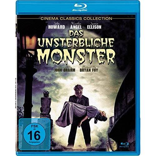 John Brahm - Das unsterbliche Monster [Blu-ray] - Preis vom 03.09.2020 04:54:11 h