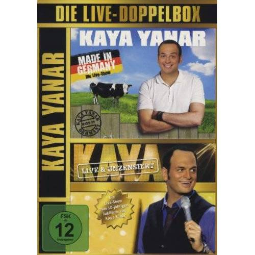 Kaya Yanar - Die Live-Doppelbox [4 DVDs] - Preis vom 09.05.2021 04:52:39 h