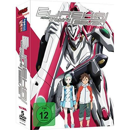 Tomoki Kyoda - Eureka 7 - Box Vol.1 [6 DVDs] - Preis vom 17.04.2021 04:51:59 h