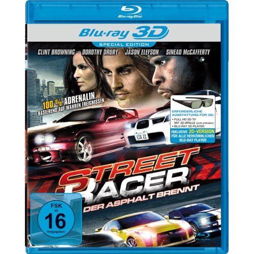 Teo Konuralp - Street Racer - Der Asphalt brennt [3D Blu-ray] - Preis vom 20.06.2019 04:44:33 h