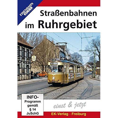 - Straßenbahnen im Ruhrgebiet - Einst & Jetzt - Preis vom 28.07.2020 04:57:21 h