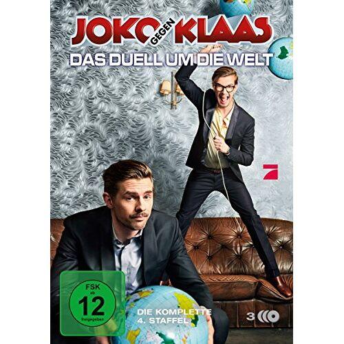 Klaas Heufer-Umlauf - Joko gegen Klaas - Das Duell um die Welt/Staffel 4 [3 DVDs] - Preis vom 13.05.2021 04:51:36 h