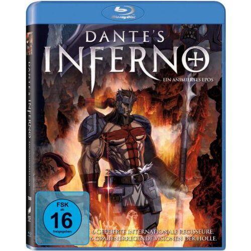 Mike Disa - Dante's Inferno - Ein animiertes Epos [Blu-ray] - Preis vom 25.02.2021 06:08:03 h