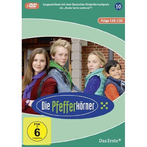 Carolin Garnier - Die Pfefferkörner - Staffel 10 (Folge 118-130) [2 DVDs] - Preis vom 21.01.2021 06:07:38 h