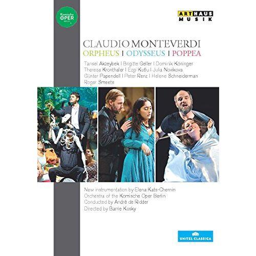 Claudio Monteverdi - Monteverdi: Orpheus / Odysseus / Poppea [5 DVDs] - Preis vom 16.04.2021 04:54:32 h