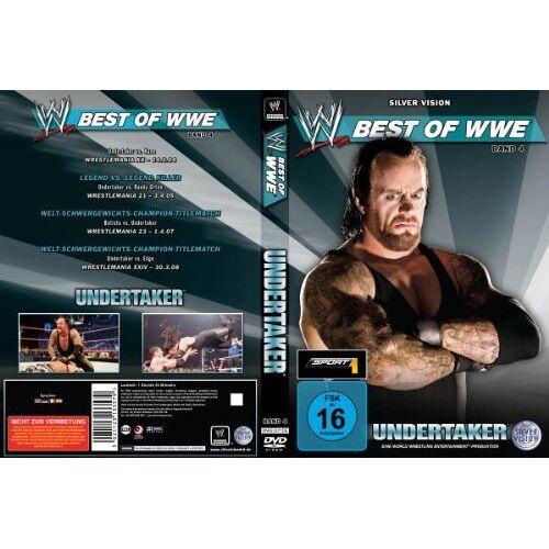 Various - WWE - Best of WWE: Undertaker - Preis vom 28.02.2021 06:03:40 h