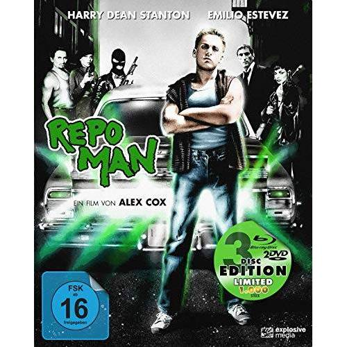 Alex Cox - Repo Man - Mediabook  (+ 2 DVDs) [Blu-ray] - Preis vom 20.10.2020 04:55:35 h