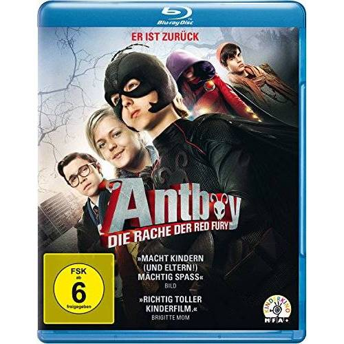 Ask Hasselbalch - Antboy - Die Rache der Red Fury [Blu-ray] - Preis vom 13.05.2021 04:51:36 h