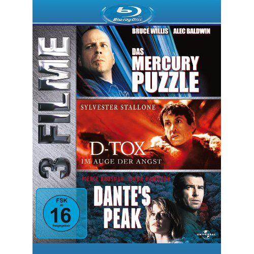 Sylvester Stallone - Dante's Peak/Das Mercury Puzzle/D-TOX [Blu-ray] - Preis vom 17.01.2021 06:05:38 h