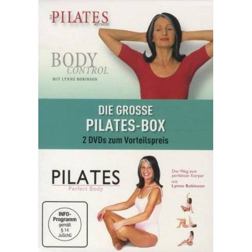 Lynne Robinson - Die große Pilates-Box (2 DVDs) - Preis vom 11.07.2019 05:53:57 h