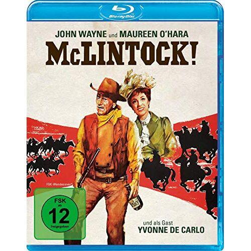 Andrew V. McLaglen - McLintock! [Blu-ray] - Preis vom 20.10.2020 04:55:35 h