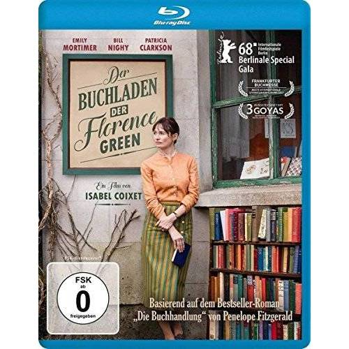 Isabel Coixet - Der Buchladen der Florence Green [Blu-ray] - Preis vom 07.05.2021 04:52:30 h