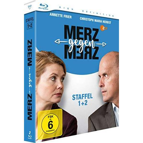 Jan Markus Linhof - Merz gegen Merz - Staffel 1+2 - [Blu-ray] - Preis vom 20.10.2020 04:55:35 h