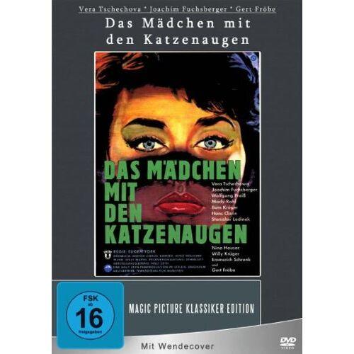 Eugen York - Das Mädchen mit den Katzenaugen - Preis vom 06.04.2021 04:49:59 h