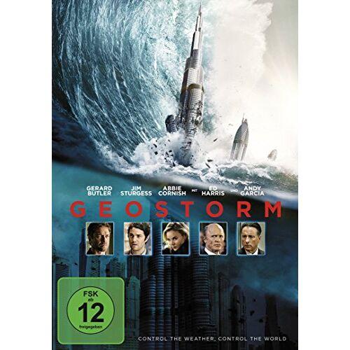 Gerard Butler - Geostorm [DVD] - Preis vom 01.03.2021 06:00:22 h
