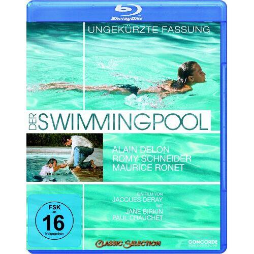 Jacques Deray - Der Swimmingpool - Ungekürzte Fassung [Blu-ray] - Preis vom 25.02.2021 06:08:03 h