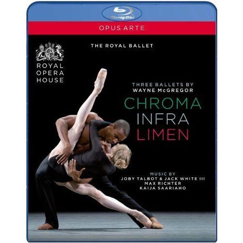 Wayne McGregor - Drei Ballette von Wayne McGregor - Triple Bill [Blu-ray] - Preis vom 10.04.2021 04:53:14 h