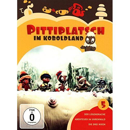 - Pittiplatsch im Koboldland Vol. 5 [2 DVDs] - Preis vom 15.04.2021 04:51:42 h