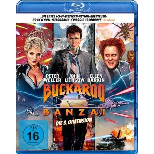 W.D. Richter - Buckaroo Banzai - Die 8. Dimension [Blu-ray] - Preis vom 21.04.2021 04:48:01 h