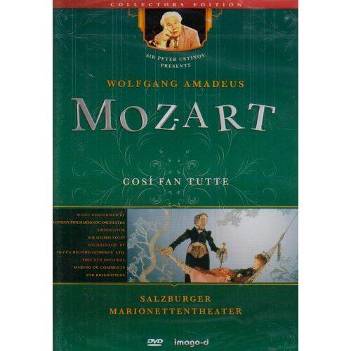 - Cosi fan tutte - Salzburger Marionettentheater, 1 DVD - Preis vom 23.01.2021 06:00:26 h