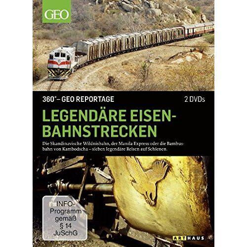 - Legendäre Eisenbahnstrecken - 360° GEO Reportage [2 DVDs] - Preis vom 25.02.2021 06:08:03 h