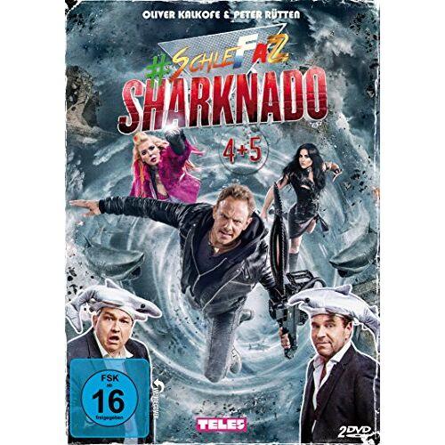 Oliver Kalkofe - #SchleFaZ - Sharknado 4+5 [2 DVDs] - Preis vom 13.05.2021 04:51:36 h