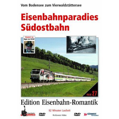 - Eisenbahnparadies Südostbahn - Vom Bodensee zum Vierwaldstättersee - Edition Eisenbahn-Romantik - Rio Grande - Preis vom 06.03.2021 05:55:44 h