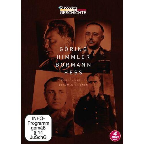- Göring Himmler Bormann Heß-Box [4 DVDs] - Preis vom 20.10.2020 04:55:35 h