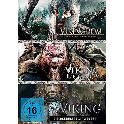 Halim, Yusry Abd - Wikinger-Box: Viking, Vikingdom & Viking Legacy (3 DVDs) - Preis vom 16.01.2021 06:04:45 h