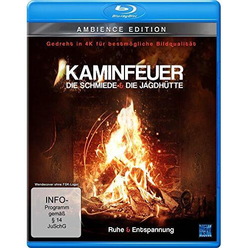 Karl Krings - Kaminfeuer (gedreht in 4K für bestmögliche Bildqualität) - Die Schmiede & Die Jagdhütte (Blu-ray) - Preis vom 22.02.2021 05:57:04 h