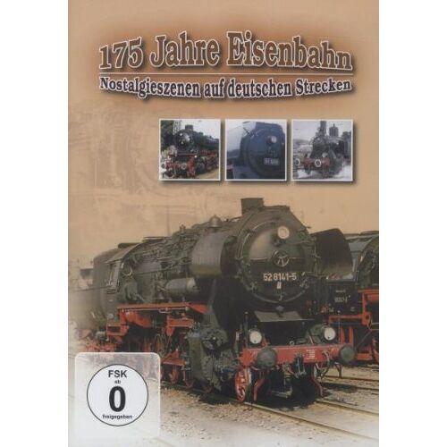- 175 Jahre Eisenbahn - Nostalgieszenen auf deutschen Strecken - Preis vom 12.05.2021 04:50:50 h