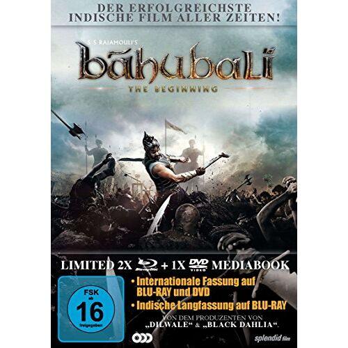 Rajamouli, S. S. - Bahubali - The Beginning [Blu-ray] - Preis vom 21.04.2021 04:48:01 h
