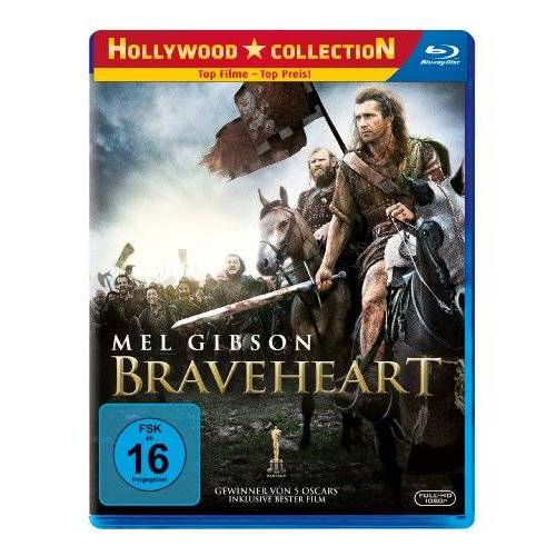 Mel Gibson - Braveheart [Blu-ray] - Preis vom 20.10.2020 04:55:35 h
