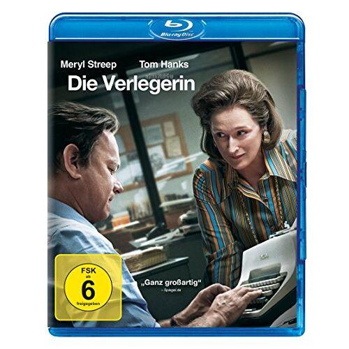 Steven Spielberg - Die Verlegerin [Blu-ray] - Preis vom 25.02.2021 06:08:03 h