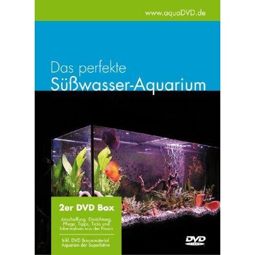 aquaDVD - Das perfekte Süßwasser-Aquarium, Einrichtung, Pflege, Fische, Pflanzen [2 DVDs] - Preis vom 08.05.2021 04:52:27 h