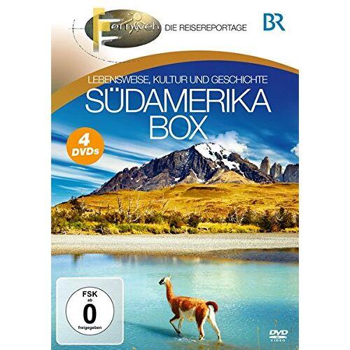 BR-Fernweh - Südamerika Box [4 DVDs] - Preis vom 20.10.2020 04:55:35 h