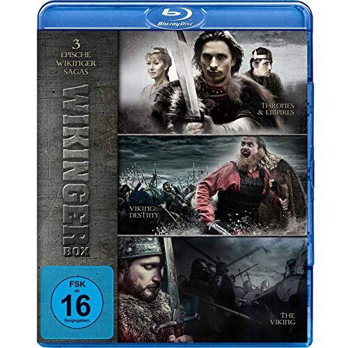 - Wikinger Box - Drei epische Wikinger Sagas - Thrones & Empires, Viking Destiny, The Viking [Blu-ray] - Preis vom 23.02.2021 06:05:19 h