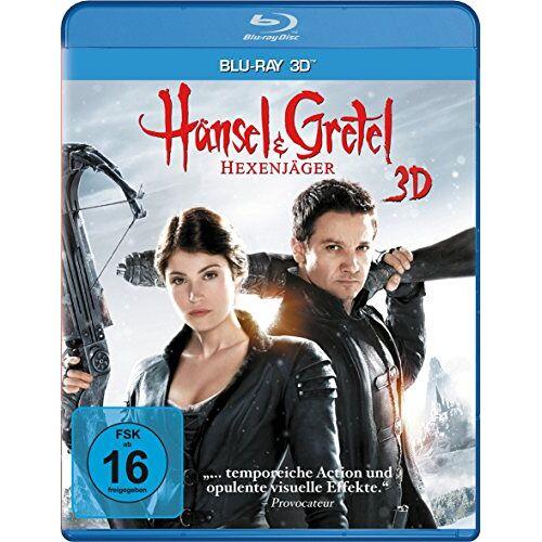 Tommy Wirkola - Hänsel und Gretel - Hexenjäger [3D Blu-ray] - Preis vom 20.10.2020 04:55:35 h