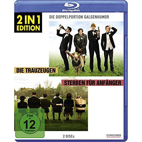 - Die Trauzeugen/Sterben für Anfänger - 2 in 1 Edition [Blu-ray] - Preis vom 13.12.2019 05:57:02 h